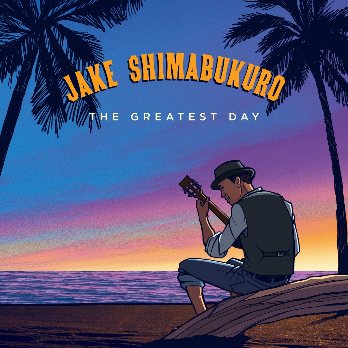 Jake Shimabukuro – The Greatest Day (Album Cover)